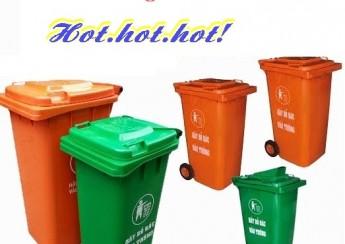 Xả kho, thùng rác 120 và 240 lít