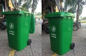 Thùng rác công cộng 100 lít, hàng mới về
