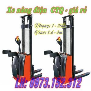 Xe nâng điện CTQ giá rẻ
