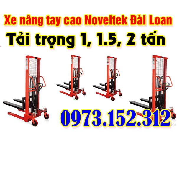 Xe nâng tay cao Noveltek - Đài Loan