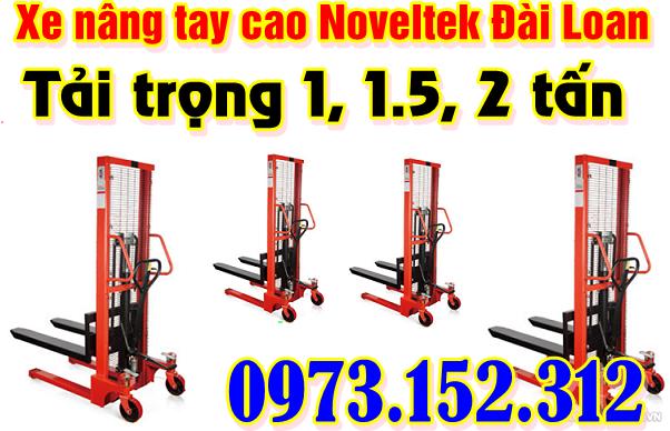 Xe nâng tay cao 1.5 tấn, Noveltek - Đài Loan