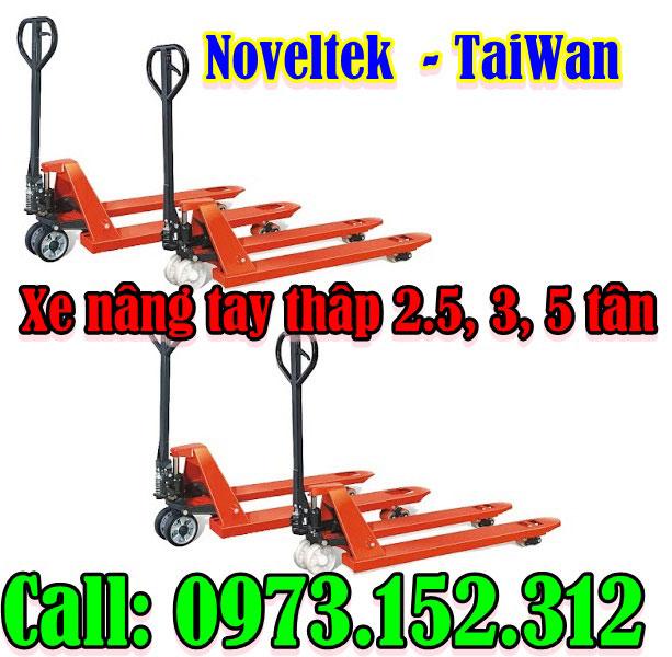 Xe nâng tay thấp 2 - 5 tấn, giá rẻ
