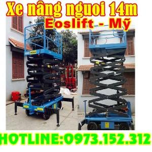 Xe nâng người 12, 14m, Eoslift - Mỹ