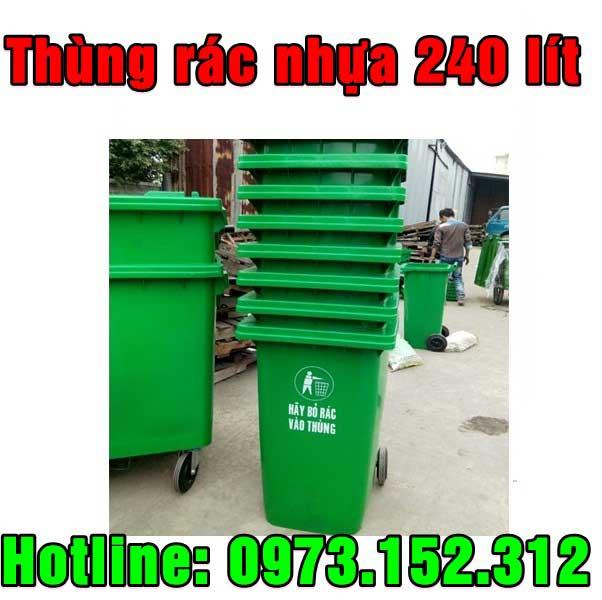 Thùng rác nhựa giá rẻ