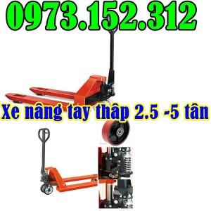 Xe nâng tay thấp tải trọng 2 - 5 tấn, sẵn hàng Noveltek - Đài Loan