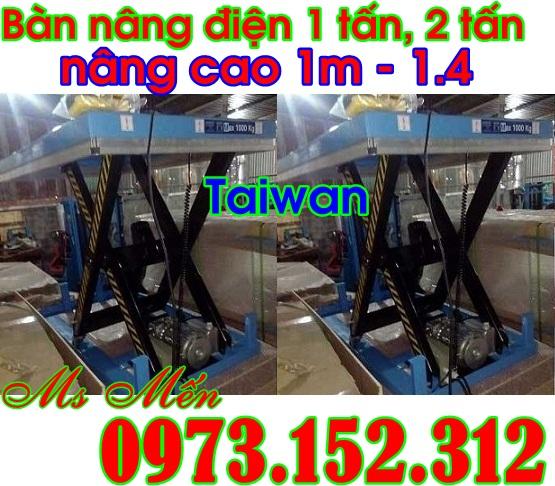 Ban nang dien 1 tan , 2 tan