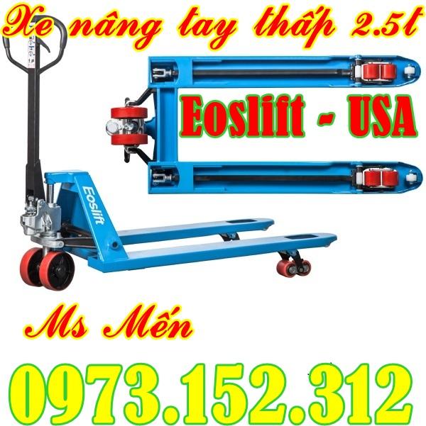 Xe nâng tay thấp Eoslift - Mỹ 2.5 tấn - 5 tấn