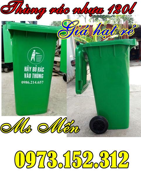 Thùng rác nhựa HDPE cao cấp giá rẻ