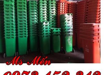 Thùng rác công cộng giá rẻ tại Sài Gòn