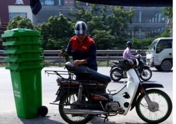 Thùng rác nhựa 120 lít HDPE cao cấp