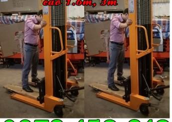 Xe nâng tay cao 1 tấn, 1.5 tấn, 2 tấn cao 3m