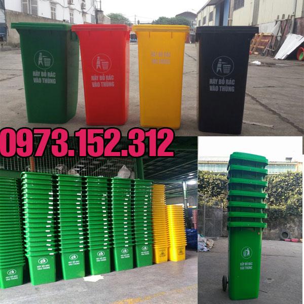 Thùng rác nhựa tại Thanh Hóa giá rẻ